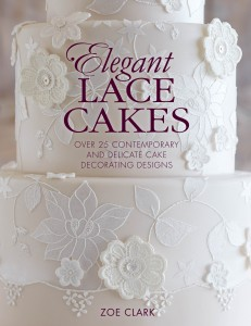 Elegant Lace Cakes - Cake Decorating Books