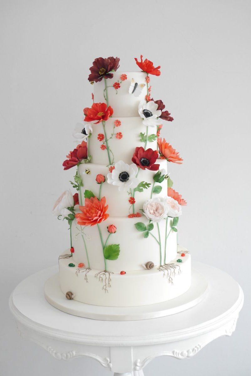 Wedding Cakes Noosa Sunshine Coast Zoe Clark Cakes