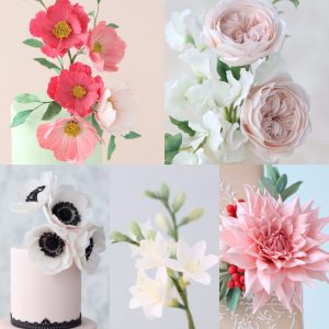 Sugar flower cake classes