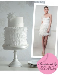 Matthew Williamson Inspired Wedding Cake